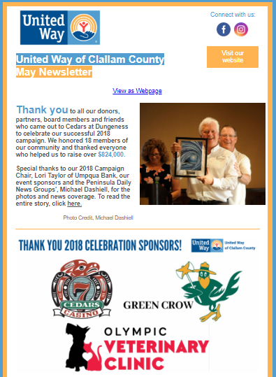 Latest News | United Way of Clallam County
